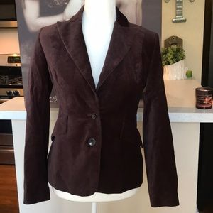 Body by Victoria velvet blazer